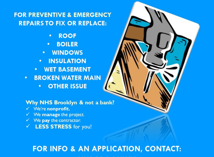 Winter is coming. Need funds for home repairs?