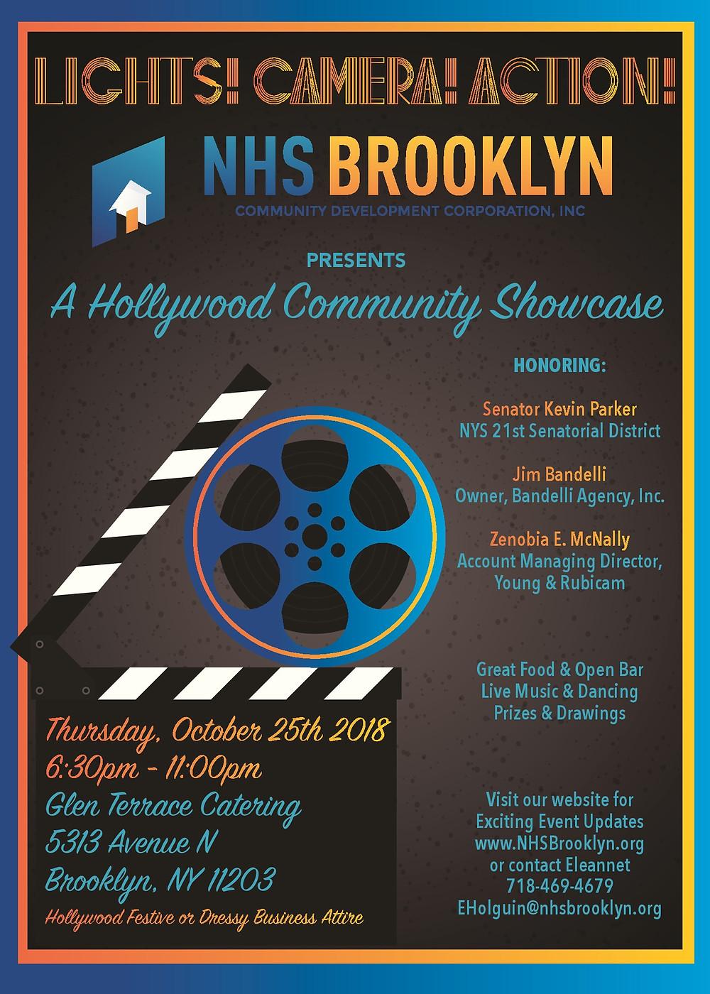 NHS Brooklyn Annual Community Showcase October 2018 Glen Terrace