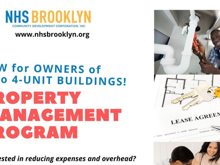 New Program! Property Management for Owners of 1-4 Unit Homes & Buildings