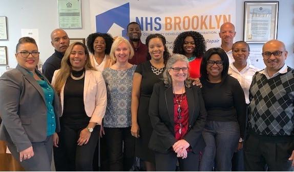 NHS Brooklyn staff
