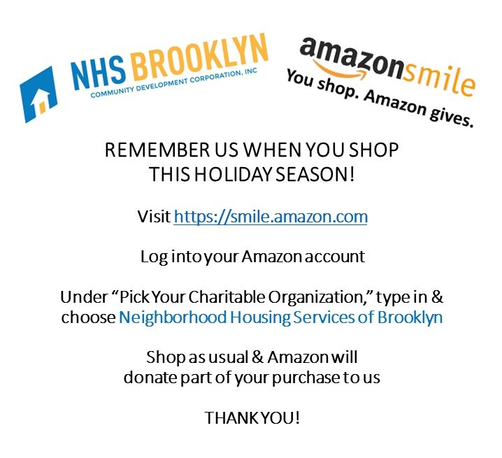 NHS Brooklyn Amazon Smile Charity Donation