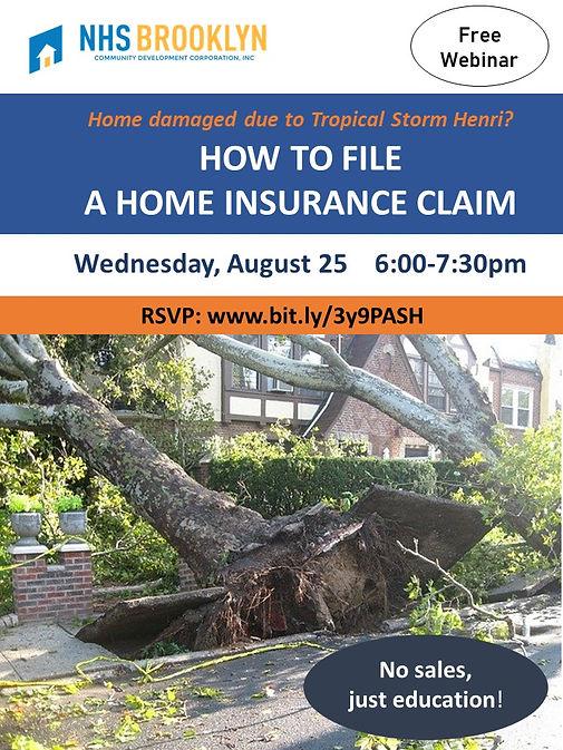 Home Insurance Webinar Aug 25 202 How to Make a Claim FLYER.jpg