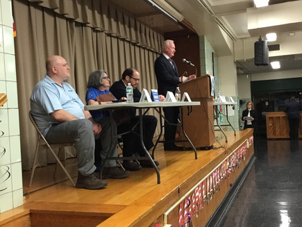 Golden Invites NHS Brooklyn to Gerritsen Beach Town Halls