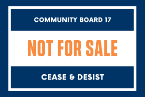 Cease & Desist Zone in East Flatbush: Stop Pressuring Us to Sell!