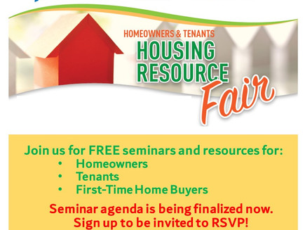Housing Resource Fair: Save the date, Sign up for seminars (East Flatbush)