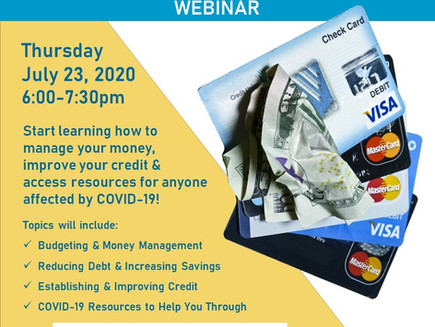 Financial Coaching and Credit Improvement Webinar