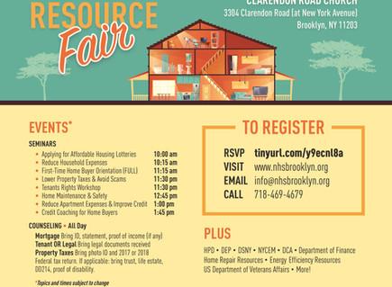 Housing Resource Fair this Sat 3/16