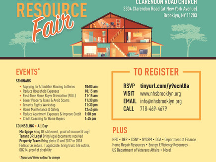 Housing Resource Fair this Sat 3/16