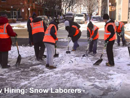 Now hiring: Snow laborers (Yes! Already!)