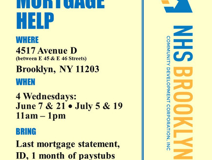 CM Jumaane Williams To Fight East Flatbush Foreclosures with Walk-in Mortgage Help in June & Jul