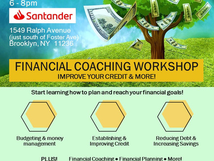 Financial Coaching Workshop (Canarsie)