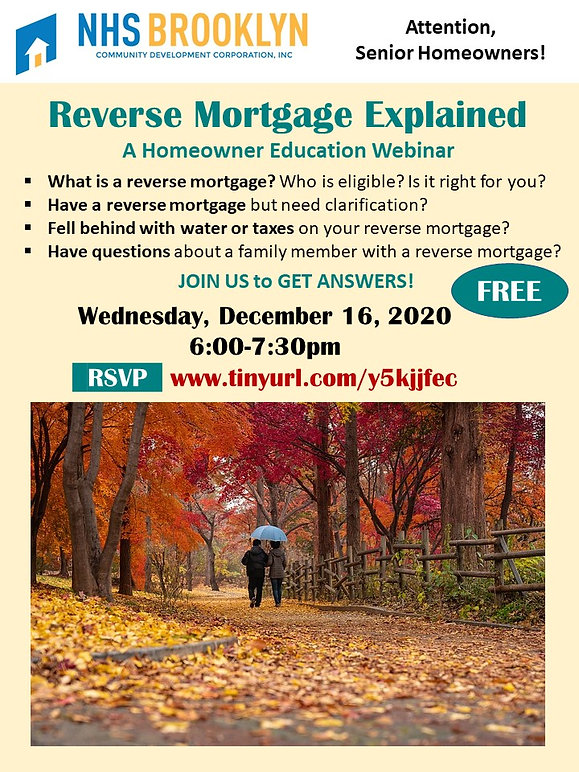 Mortgage Options REVERSE MORTGAGE 121620