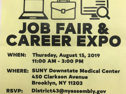 Job Fair & Career Expo Thurs Aug 15