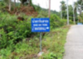 Wang Sao Thong waterfalls, Baan Saitara Villas luxury accommodation Koh Samui Island, book tours online