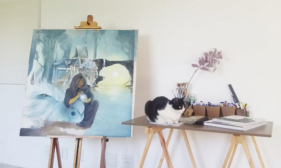 Art Studio Assistant / Assistente de Estúdio