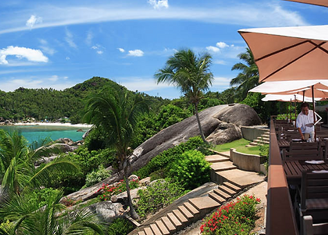 The Cliff, Namuang-Safari-Park-sign, Baan Saitara Villas luxury accommodation Koh Samui Island, private swimming pool