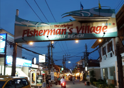 Fisherman village walking street, Baan Saitara Villas luxury accommodation Koh Samui Island