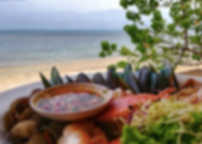 Sabeinglae Restaurant, Namuang-Safari-Park-sign, Baan Saitara Villas luxury accommodation Koh Samui Island, Thailand