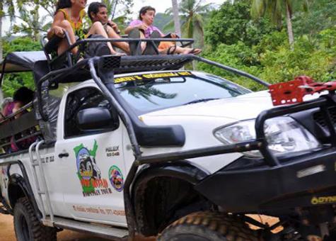 Samui day tour, half day, safari, jungle,Baan Saitara Villas luxury accommodation Koh Samui Island