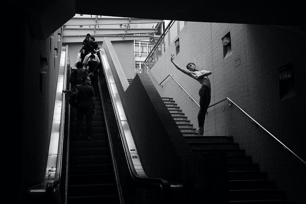 Anneliese Gilberd Academy New Zealand, achievements, male ballerina escalator