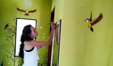 Mural Painting / Pintura de Mural