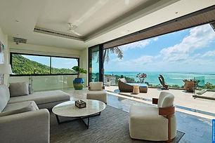 baan saitara villa koh samui, ocean views, beach views, close to beach, quiet villa, koh samui tour agency, luxury boat cruises, fresh seafood