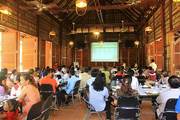 Conference hall meeting rooms at Picnic Resort, Cambodia
