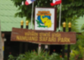 Namuang-Safari-Park-sign, Baan Saitara Villas luxury accommodation Koh Samui Island
