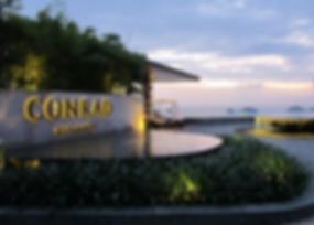 Conrad Samui, Suset of Five Island, Namuang-Safari-Park-sign, Baan Saitara Villas luxury accommodation Koh Samui Island, Thailand