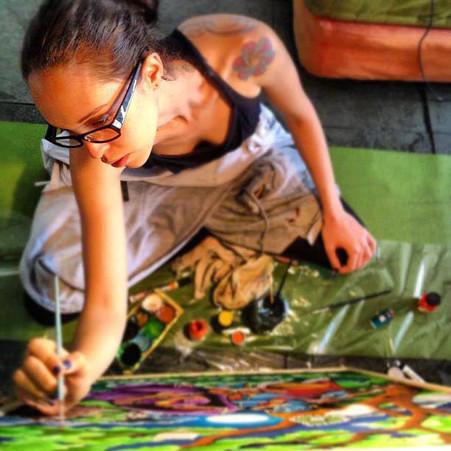 Cloth Painting / Pintura em Tecido / Pintura de Tela   - 2012
