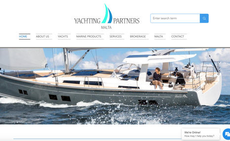 Yachting Partners Malta Huge 110+ page website, fully customized design, f...