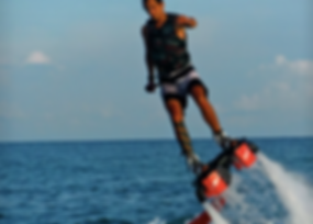Samui Watersport, jetpack, parasailing, jetski, towable, jetboard, banana boat, Baan Saitara Villas luxury accommodation Koh Samui Island