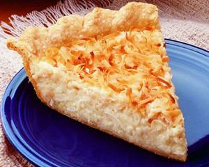 Gluten-free, dairy-free Coconut Cream Pie