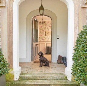 Dogs are welcome at Upwey House