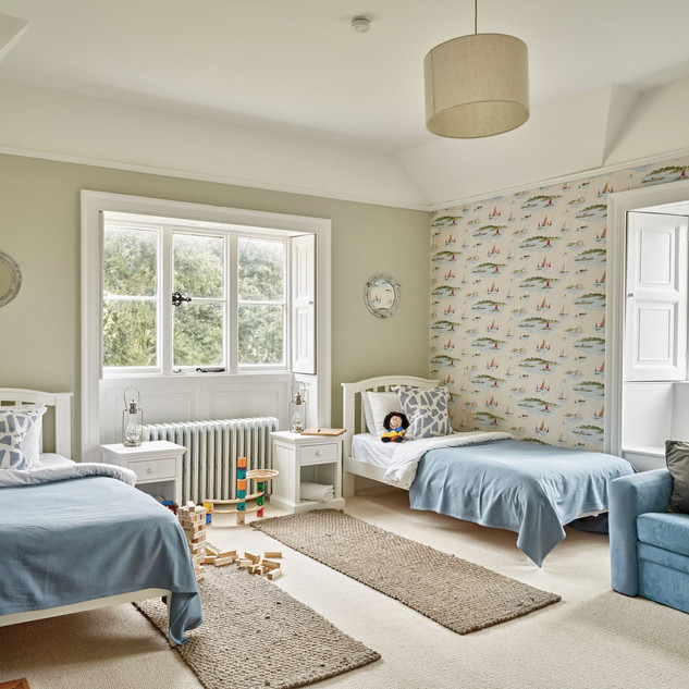 Ringstead twin room with double sofa bed