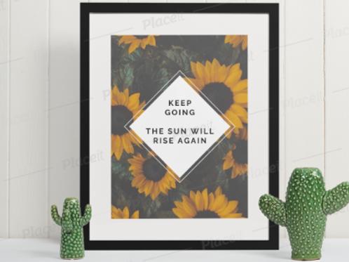 Affirmation Framed Print