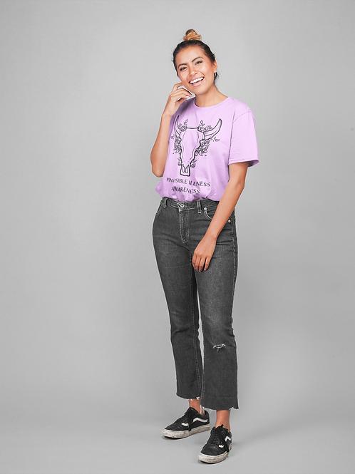 INVISIBLE ILLNESS AWARENESS Extra Comfort T-shirt