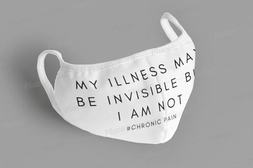 Invisible Illness Cotton Mask