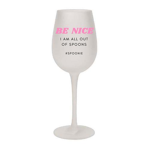#SPOONIE Wine Glass