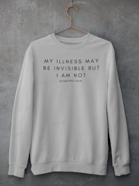 Invisible Illness Crewneck Jumper