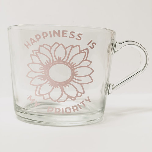 Happiness is my Priority Coffee Mug