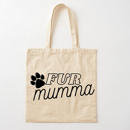 Fur Mumma Tote Bag