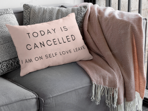 Self Love Leave Standard Pillowcase
