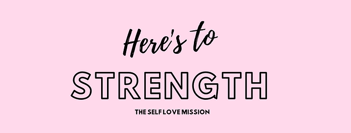 Here's to Strength Logo