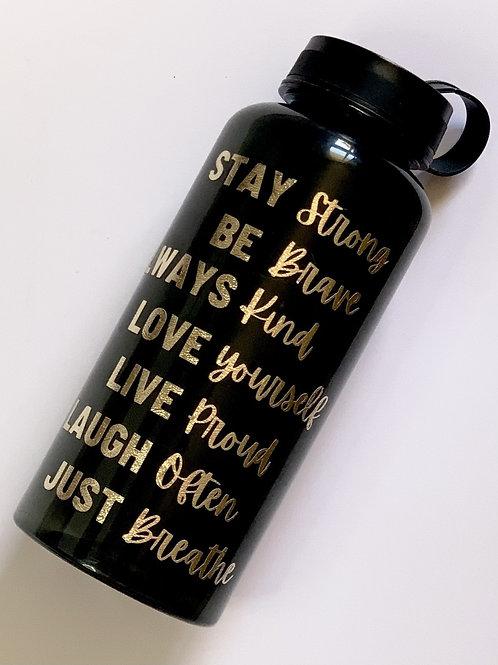 1L Motivational Timed Drink Bottle
