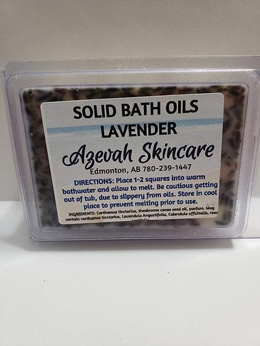 Azevah Skincare Solid Bath Oils