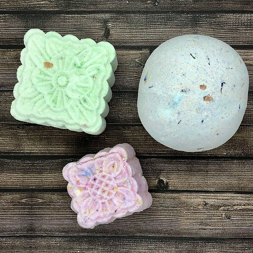 FLORAL COLLECTION BATHBOMBS