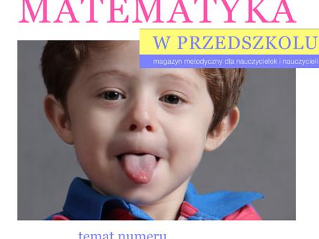 Poradnik metodyczny  Matematyka w przedszkolu NUMER 1