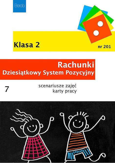 Klasa 2 Pakiet 7 scenariuszy GIER I ZABAW na DZIESIĄTKOWY SYSTEM POZYCYJNY
