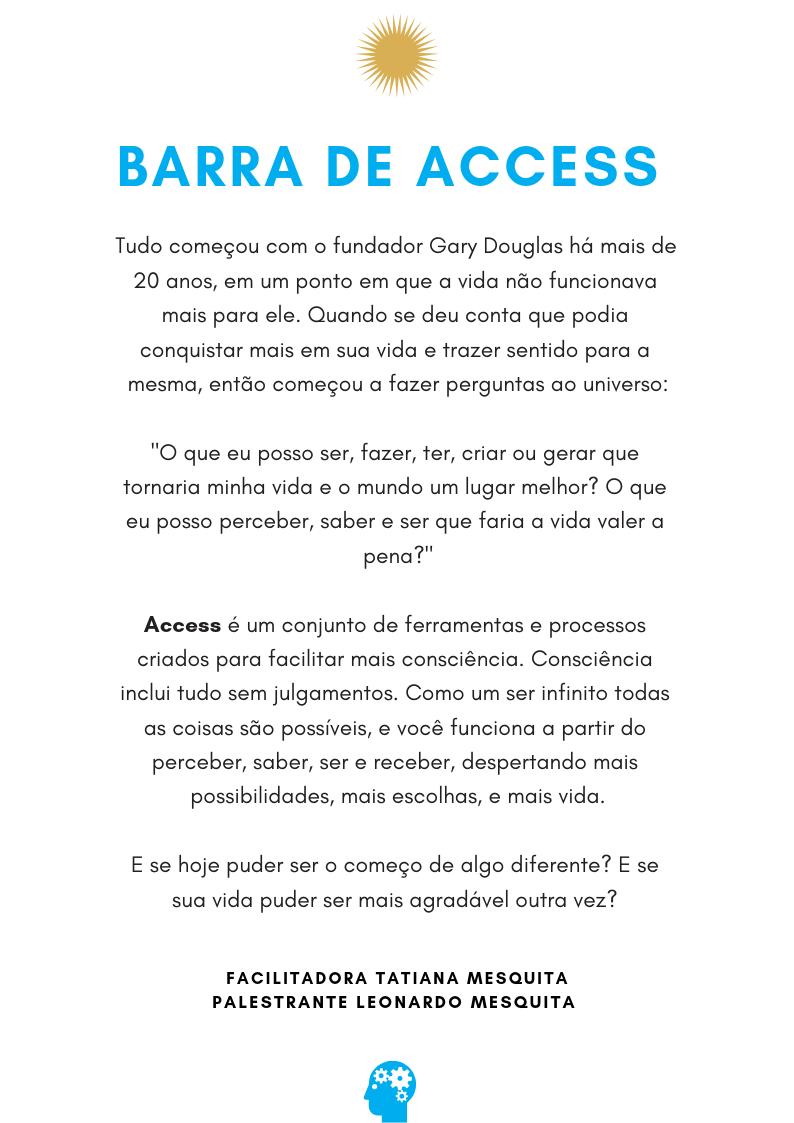 Curso Barra de Access Porto Alegre